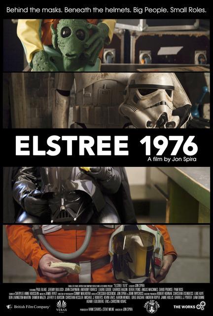 『エルストリー1976 - 新たなる希望が生まれた街 -』ポスター (C)ELSTREE 1976 LIMITED, 2015