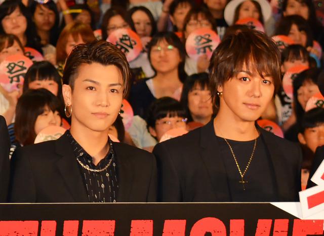 岩田剛典&TAKAHIRO/『HiGH&LOW THE MOVIE』大ヒット記念舞台挨拶