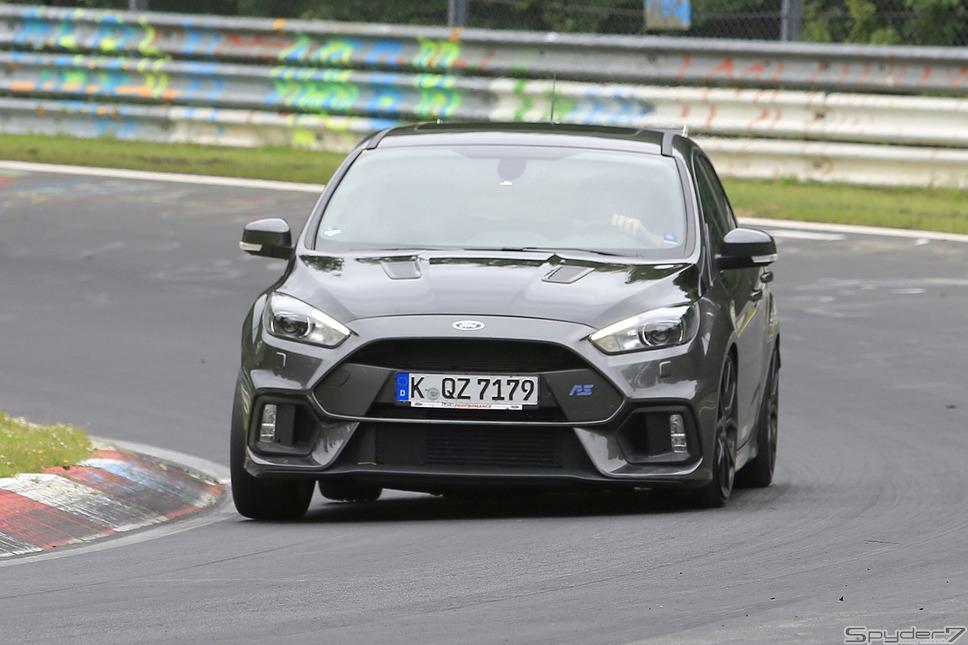 フォード フォーカス RS500 スクープ写真