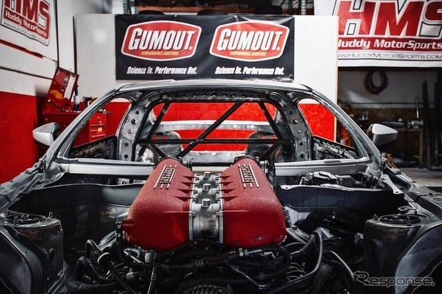 トヨタ 86 にフェラーリV8エンジン移植プロジェクト