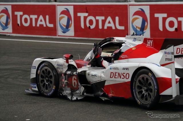 僚機のトヨタ6号車が最終的に総合2位となった。