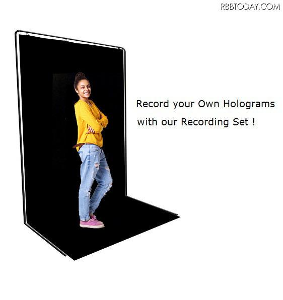 スマホやPCの画面をホログラム上映!近未来技術が自宅で楽しめる「HoloVit」