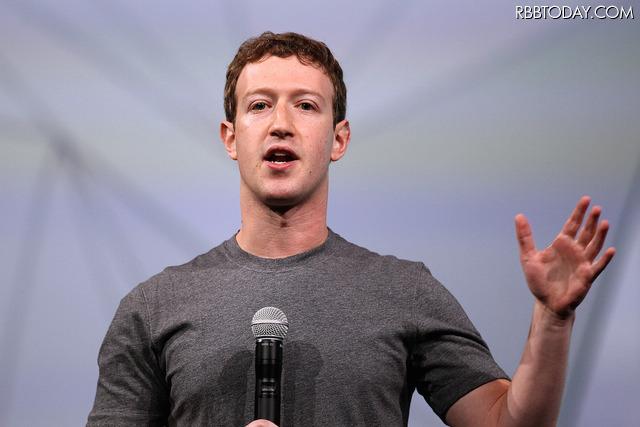 Facebook CEOのマーク・ザッカーバーグ氏 (C) Getty Images