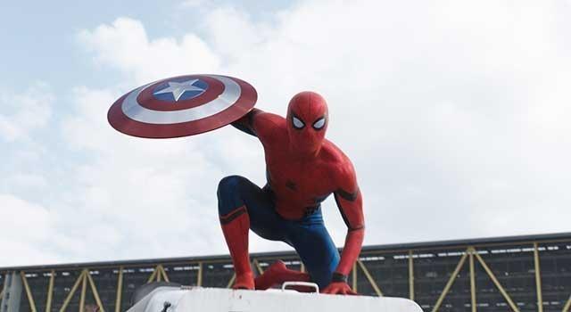 スパイダーマン『シビル・ウォー/キャプテン・アメリカ』ー(C)2015 Marvel.
