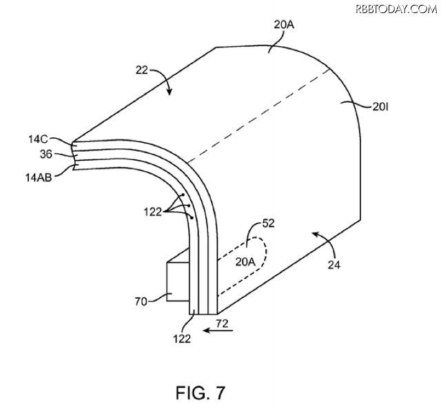 """Apple、iPhoneの""""エッジディスプレイ""""モデルを開発中か? 特許を申請"""