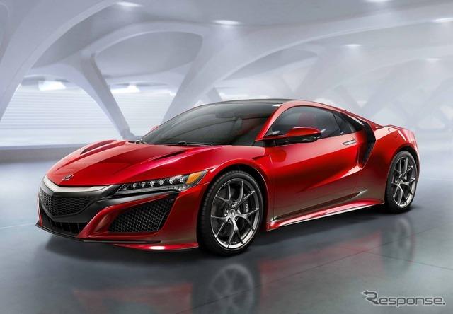 新型アキュラ (ホンダ)NSX 市販モデル