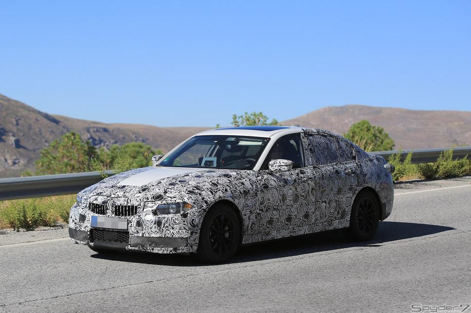 BMW 3シリーズ スクープ写真