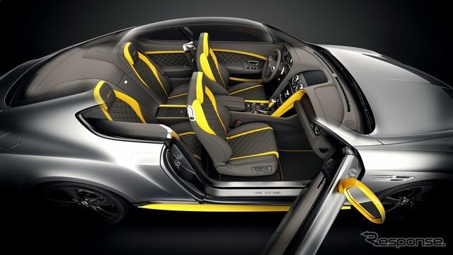 ベントレー コンチネンタル GTスピード ブラックエディション
