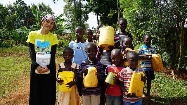 「石原さとみ アフリカ・ケニアへ 水で命を失っていく子ども達」