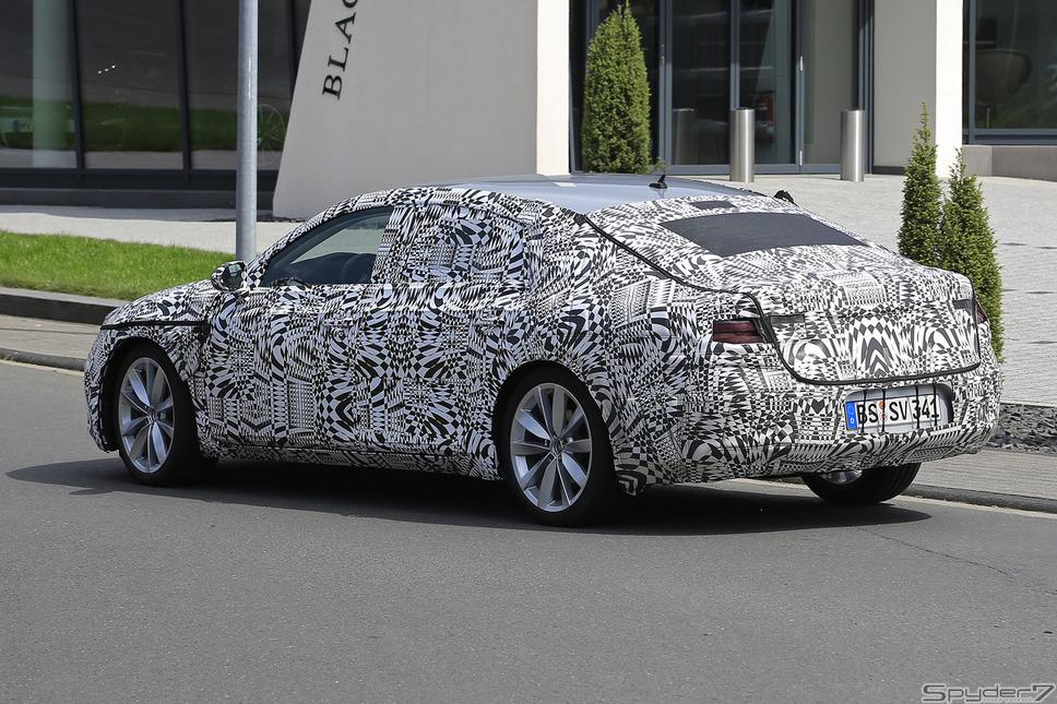 VW CC スクープ写真