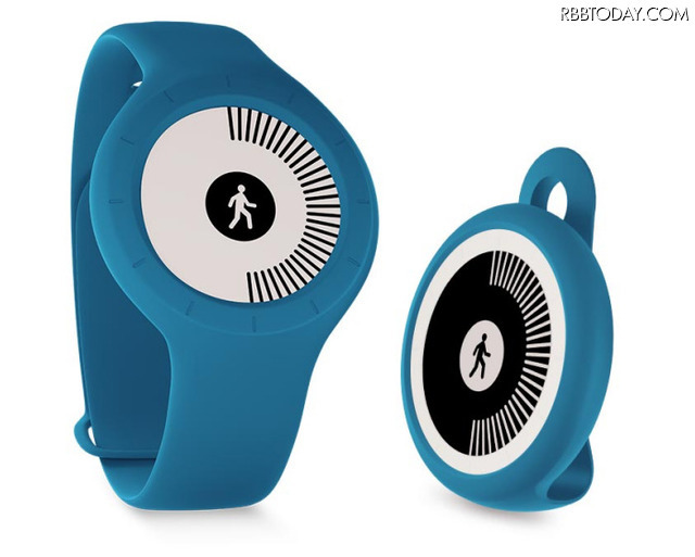 歩数、ランニング、スイミングおよび睡眠を自動で記録できる。参考価格は税込9,800円