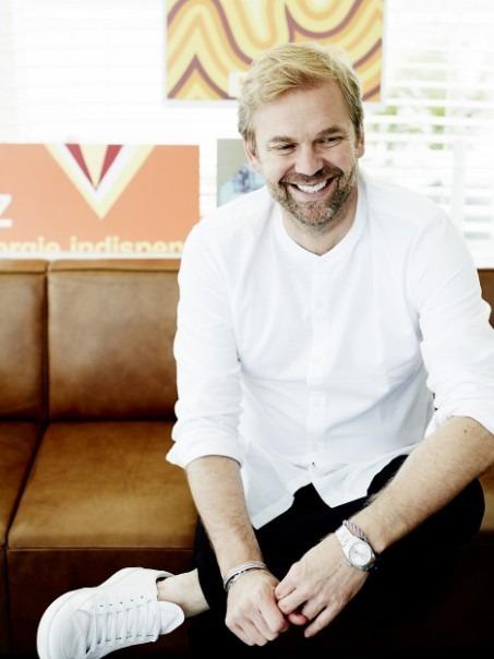 シドニー生まれのレストランター ビル・グレンジャー (c)Anson Smart