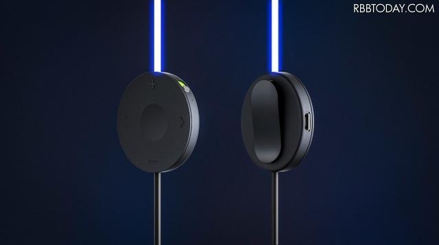 音量調整、再生・停止・曲送り、通話着信への応答といった操作は、5WAYコントローラで行う