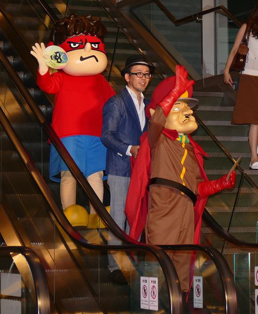 「鷹の爪」吉田君と総統『スーサイド・スクワッド』レッドカーペットセレモニー・ジャパンプレミア
