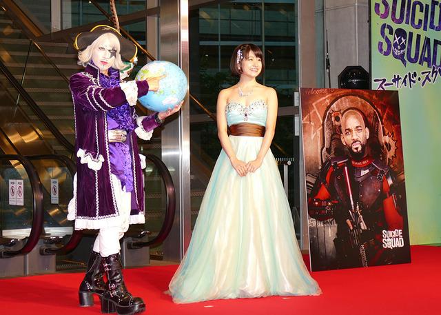 『スーサイド・スクワッド』レッドカーペットセレモニー・ジャパンプレミア