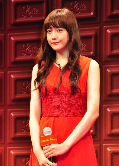 松井愛莉/「ガーナ」チョコレートシーズンオープンセレモニー