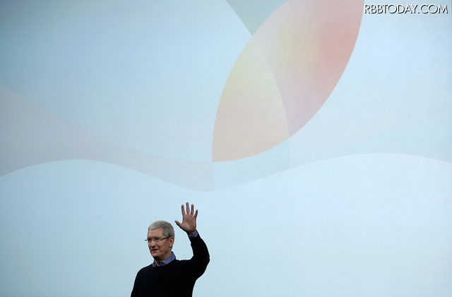 Appleのティム・クックCEO(C)GettyImages