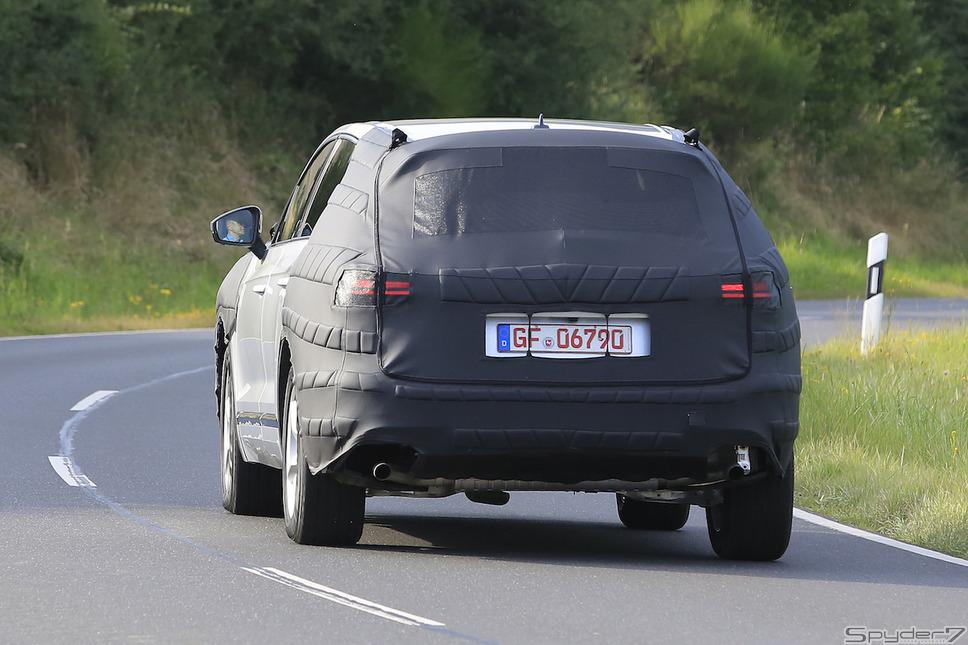VW トゥアレグスクープ写真