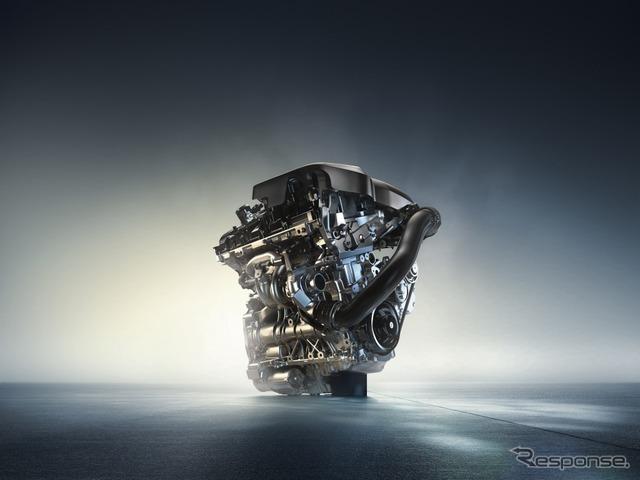 2.0リットル直列4気筒BMWツインパワー・ターボ・ガソリン・エンジン
