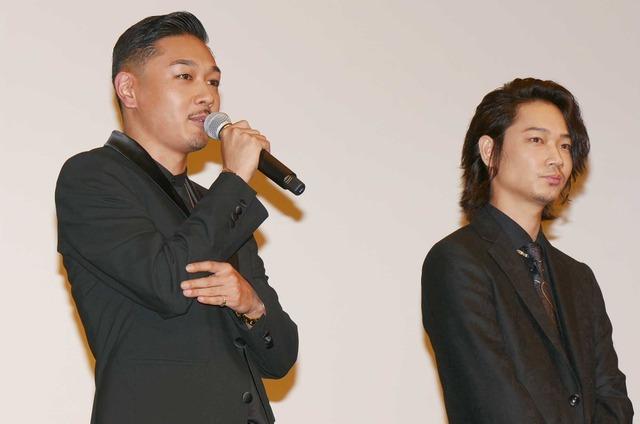 YOUNG DAIS&綾野剛/『日本で一番悪い奴ら』初日舞台挨拶