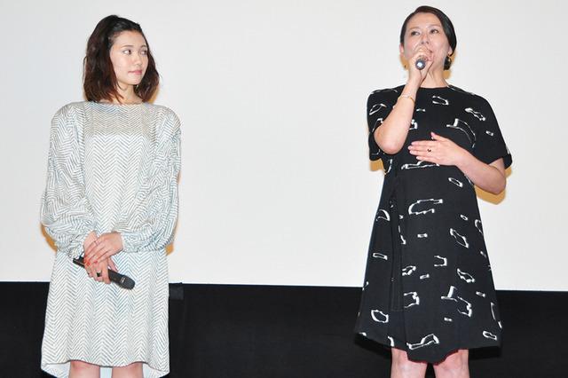 二階堂ふみ、小泉今日子『ふきげんな過去』舞台挨拶
