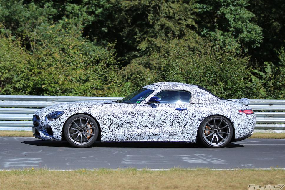 メルセデス AMG GT C ロードスタースクープ写真