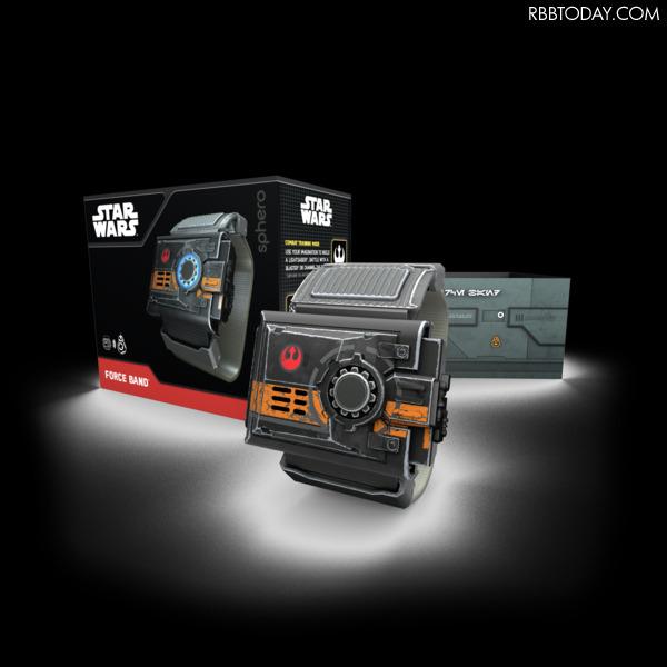 BB-8がジェスチャーでついてくる!スター・ウォーズファン垂涎のフォースバンド登場
