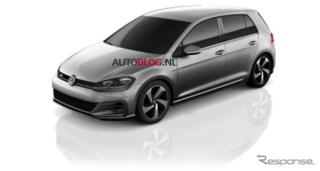 改良新型VWゴルフGTIの画像をリークしたオランダ『AUTO BLOG.NL』