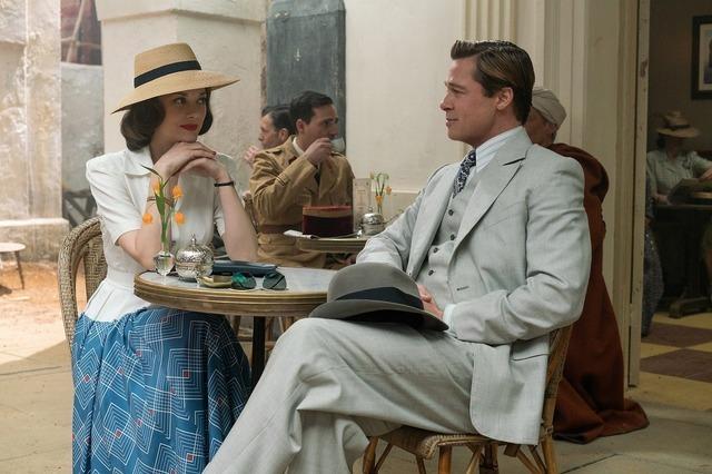 『マリアンヌ』 (C)2016 Paramount Pictures. All Rights Reserved.