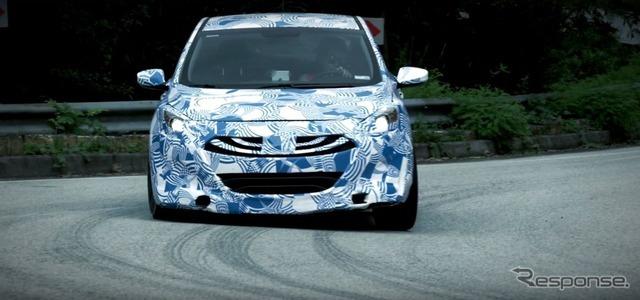 ヒュンダイの高性能ブランド「N」の開発車両