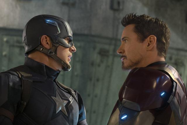 『シビル・ウォー/キャプテン・アメリカ』(C)2016 Marvel.