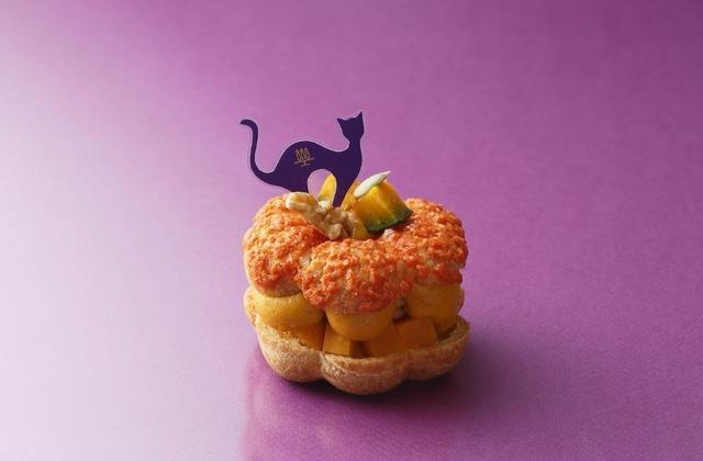 アンリ・シャルパンティエ「かぼちゃのパリブレスト」