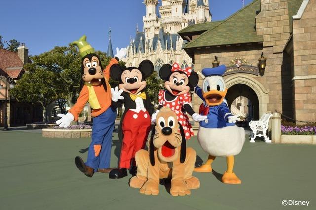 ディズニーの仲間たち 写真提供:テレビ朝日