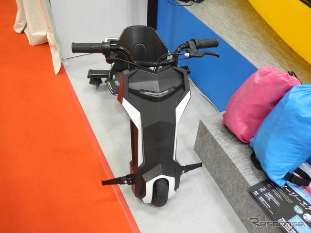 フロントラインが展示した電動ドリフト3輪車「ドリフトトライク」