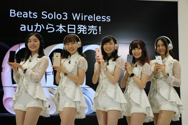 左から松井珠理奈さん、須田亜香里さん、大矢真那さん、高柳明音さん、古畑奈和さん(2016年9月16日)