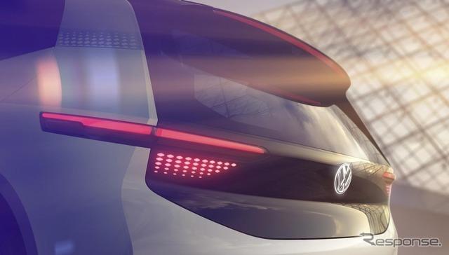 VWの新EVコンセプトの予告スケッチ
