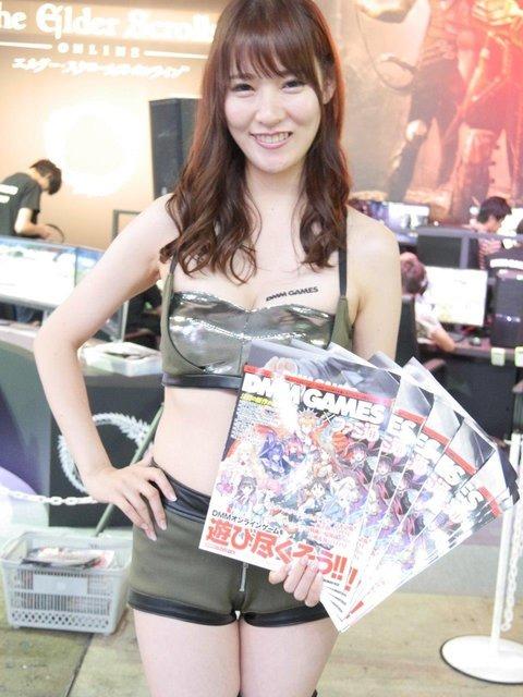 【TGS2016】会場を飾る美人コンパニオンさんを紹介!2日目