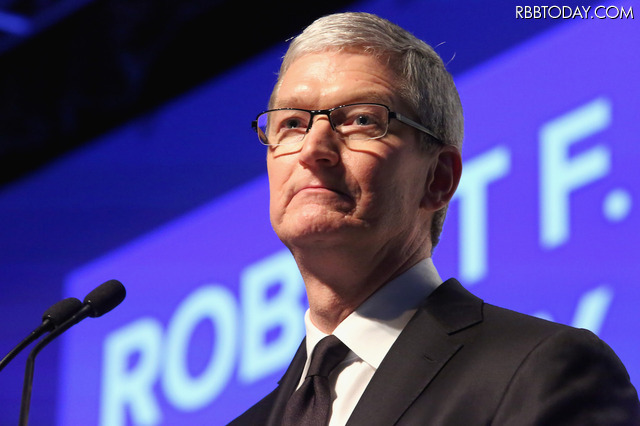 Appleのティム・クックCEO (C)Getty Images